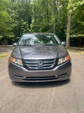 2015 Honda Odyssey for sale at Amana Auto Care Center in Raleigh NC