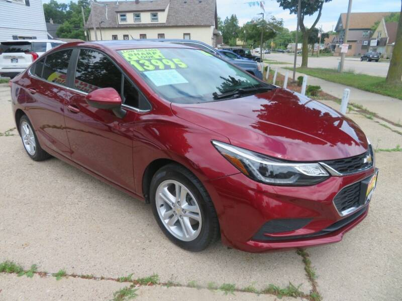 2016 Chevrolet Cruze for sale at Uno's Auto Sales in Milwaukee WI
