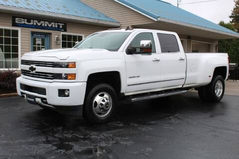 2015 Chevrolet Silverado 3500HD for sale at Summit Motorcars in Wooster OH