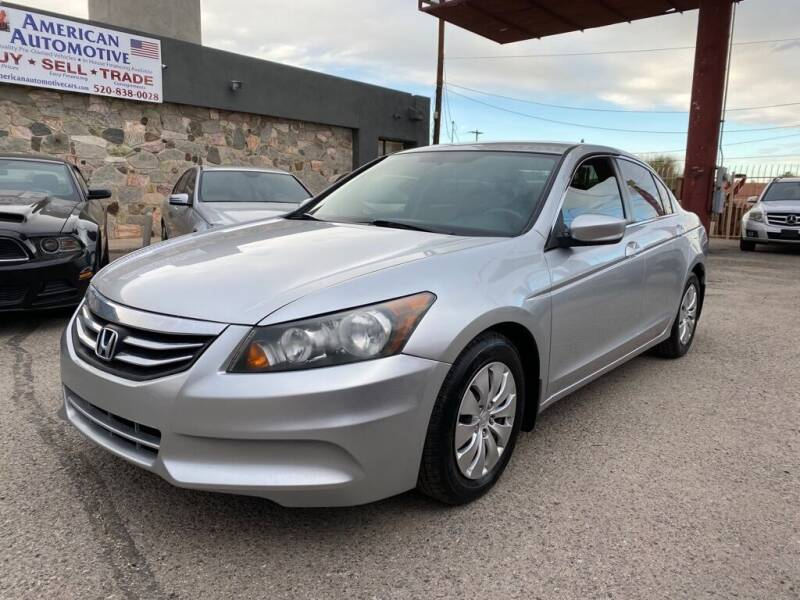 2012 Honda Accord for sale at American Automotive , LLC in Tucson AZ