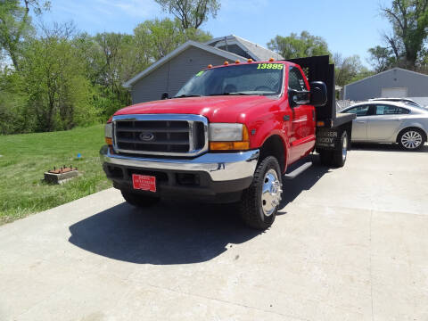 2001 Ford F-450 Super Duty for sale at John's Auto Sales in Council Bluffs IA