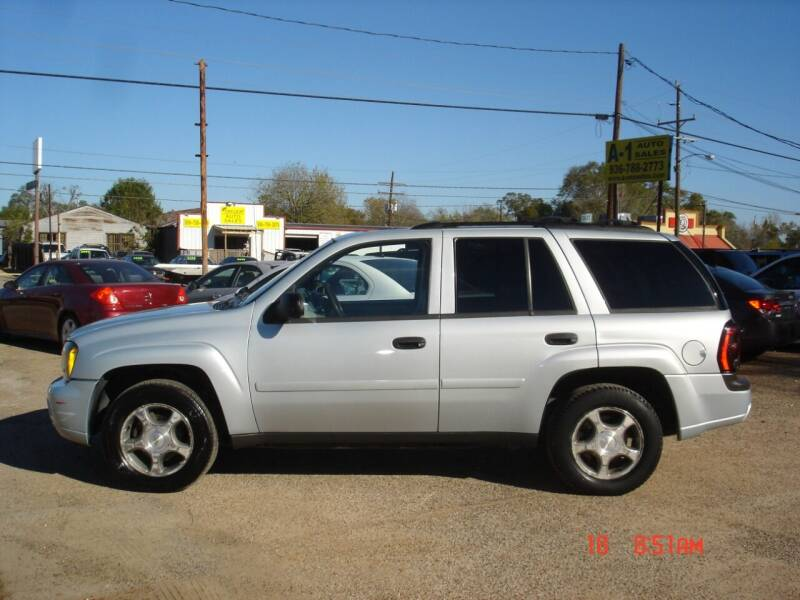 2008 Chevrolet TrailBlazer for sale at A-1 Auto Sales in Conroe TX