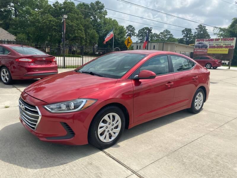 2017 Hyundai Elantra for sale at Auto Land Of Texas in Cypress TX
