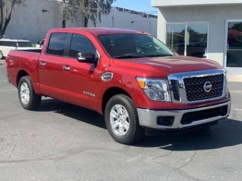 2017 Nissan Titan for sale at Brown & Brown Wholesale in Mesa AZ