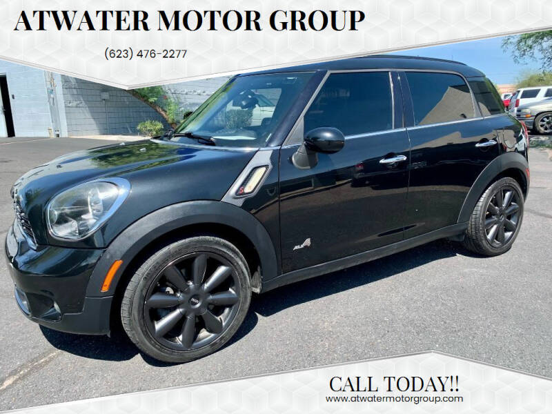 2013 MINI Countryman for sale at Atwater Motor Group in Phoenix AZ