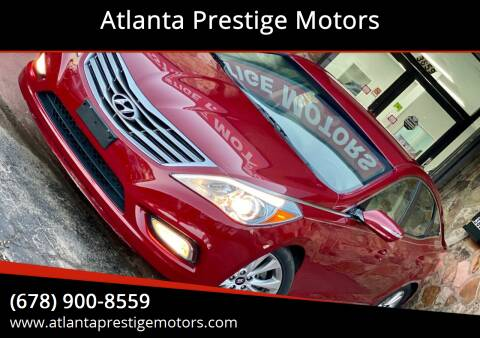 2013 Hyundai Azera for sale at Atlanta Prestige Motors in Decatur GA
