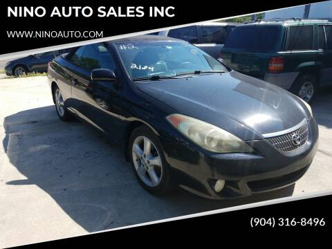 2004 Toyota Camry Solara for sale at NINO AUTO SALES INC in Jacksonville FL