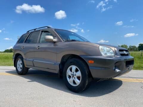2005 Hyundai Santa Fe for sale at ILUVCHEAPCARS.COM in Tulsa OK