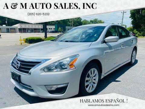 2015 Nissan Altima for sale at A & M Auto Sales, Inc in Alabaster AL