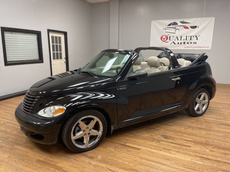 2005 Chrysler PT Cruiser for sale at Quality Autos in Marietta GA