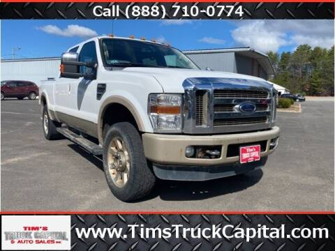 2009 Ford F-250 Super Duty for sale at TTC AUTO OUTLET/TIM'S TRUCK CAPITAL & AUTO SALES INC ANNEX in Epsom NH
