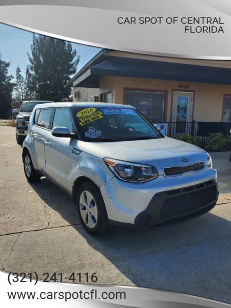 2016 Kia Soul for sale at Car Spot Of Central Florida in Melbourne FL
