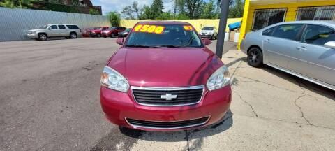2007 Chevrolet Malibu for sale at Frankies Auto Sales in Detroit MI