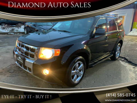 2010 Ford Escape for sale at Diamond Auto Sales in Milwaukee WI