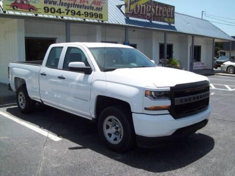 2018 Chevrolet Silverado 1500 for sale at LONGSTREET AUTO in St Augustine FL