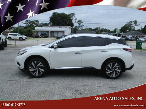 2015 Nissan Murano for sale at ARENA AUTO SALES,  INC. in Holly Hill FL