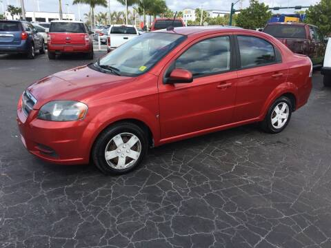 2009 Chevrolet Aveo for sale at CAR-RIGHT AUTO SALES INC in Naples FL