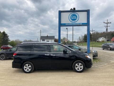 2016 Nissan Quest for sale at Corry Pre Owned Auto Sales in Corry PA