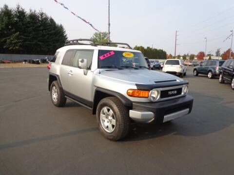 2007 Toyota FJ Cruiser for sale at New Deal Used Cars in Spokane Valley WA