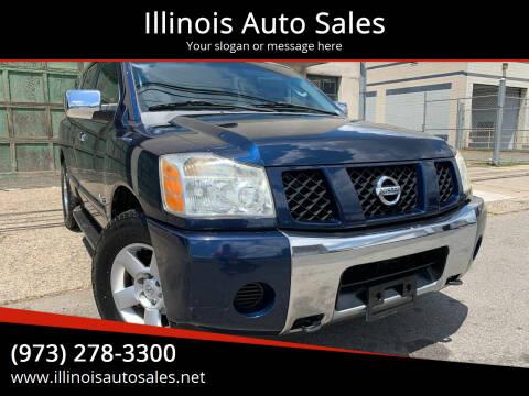 2006 Nissan Armada for sale at Illinois Auto Sales in Paterson NJ