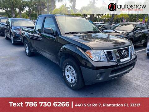 2019 Nissan Frontier for sale at AUTOSHOW SALES & SERVICE in Plantation FL