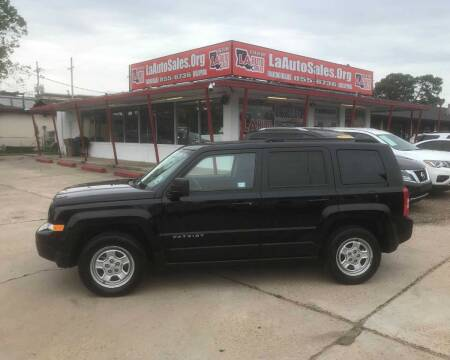 2015 Jeep Patriot for sale at LA Auto Sales in Monroe LA