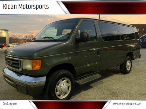 2003 Ford E-Series Wagon for sale at Klean Motorsports in Skokie IL