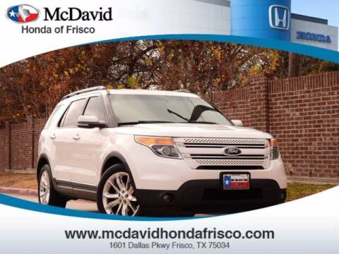 2012 Ford Explorer for sale at DAVID McDAVID HONDA OF IRVING in Irving TX