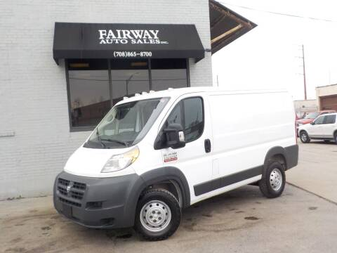 2017 RAM ProMaster Cargo for sale at FAIRWAY AUTO SALES, INC. in Melrose Park IL
