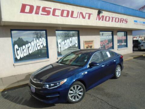 2016 Kia Optima for sale at Discount Motors in Pueblo CO