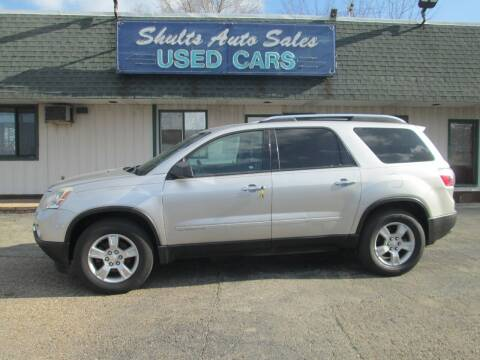 2008 GMC Acadia for sale at SHULTS AUTO SALES INC. in Crystal Lake IL
