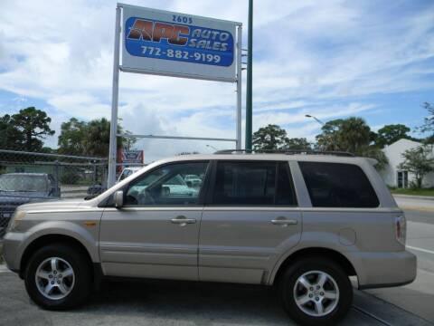 2006 Honda Pilot for sale at APC Auto Sales in Fort Pierce FL