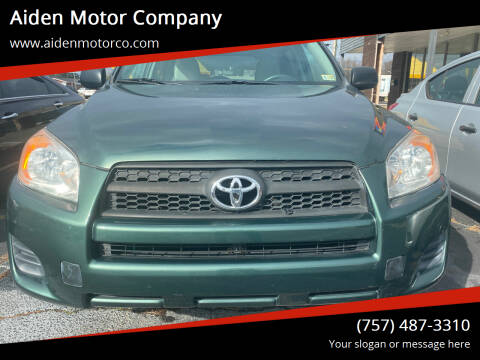 2009 Toyota RAV4 for sale at Aiden Motor Company in Portsmouth VA