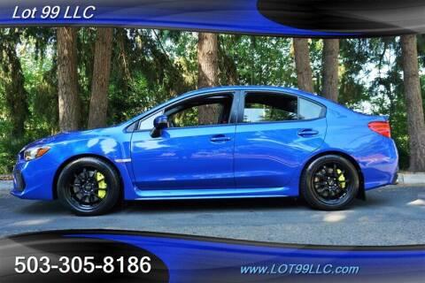 2019 Subaru WRX for sale at LOT 99 LLC in Milwaukie OR