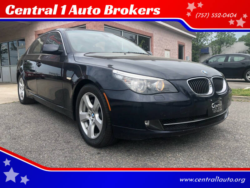2008 BMW 5 Series for sale at Central 1 Auto Brokers in Virginia Beach VA
