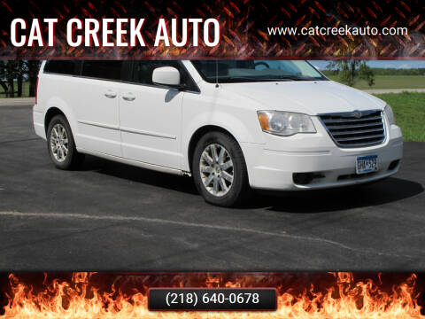 2008 Chrysler Town and Country for sale at CAT CREEK AUTO in Menahga MN
