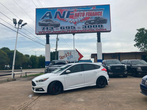 2015 Ford Focus for sale at ANF AUTO FINANCE in Houston TX