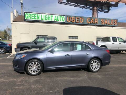 2013 Chevrolet Malibu for sale at Green Light Auto in Sioux Falls SD