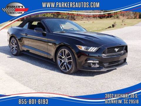 2016 Ford Mustang for sale at Parker's Used Cars in Blenheim SC