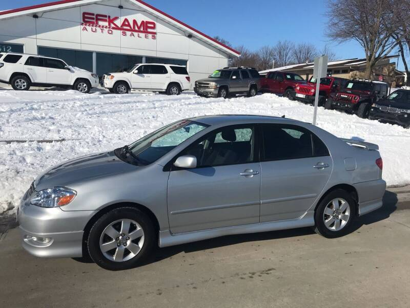 2007 Toyota Corolla for sale at Efkamp Auto Sales LLC in Des Moines IA