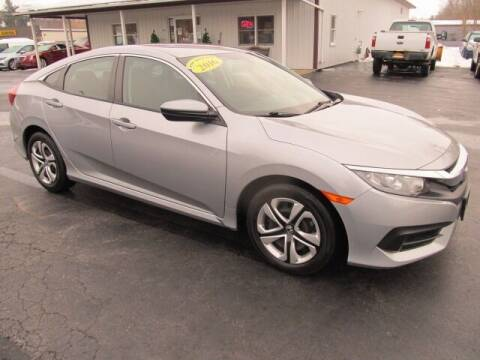 2016 Honda Civic for sale at Thompson Motors LLC in Attica NY