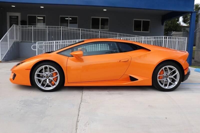 2016 Lamborghini Huracan for sale at PERFORMANCE AUTO WHOLESALERS in Miami FL