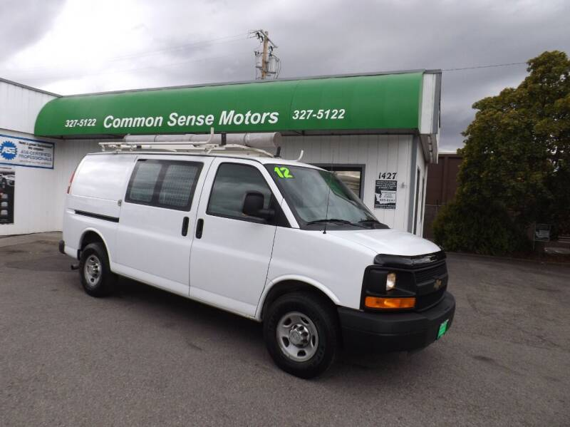 2012 Chevrolet Express Cargo for sale at Common Sense Motors in Spokane WA