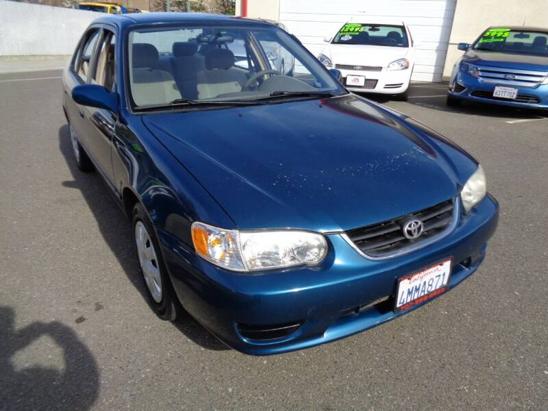 2001 Toyota Corolla for sale at NorCal Auto Mart in Vacaville CA