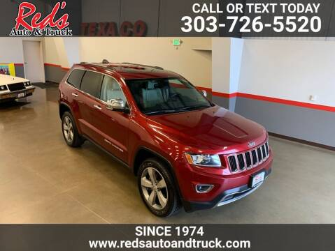 2014 Jeep Grand Cherokee for sale at Red's Auto and Truck in Longmont CO