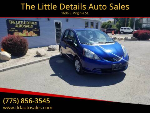 2010 Honda Fit for sale at The Little Details Auto Sales in Reno NV