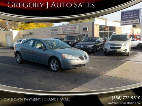 2007 Pontiac G6 for sale at Gregory J Auto Sales in Roseville MI