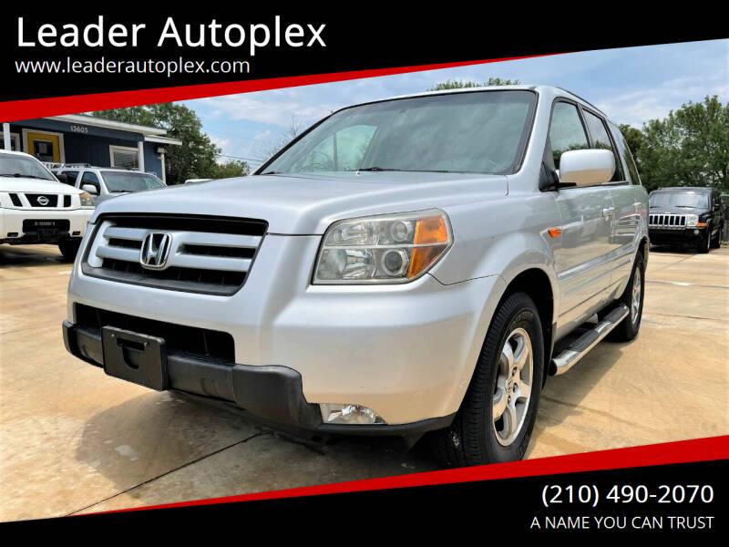 2008 Honda Pilot for sale at Leader Autoplex in San Antonio TX