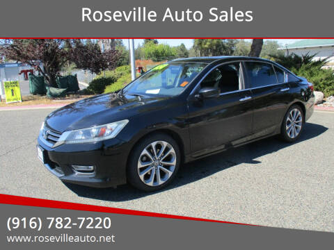 2013 Honda Accord for sale at Roseville Auto Sales 131 in Roseville CA