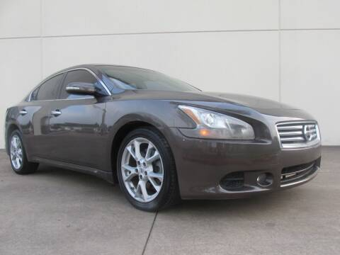 2014 Nissan Maxima for sale at QUALITY MOTORCARS in Richmond TX
